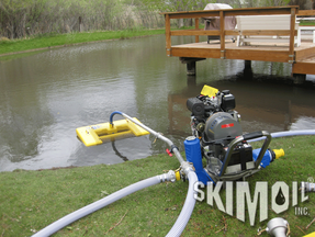 Oil Skimmer with pump